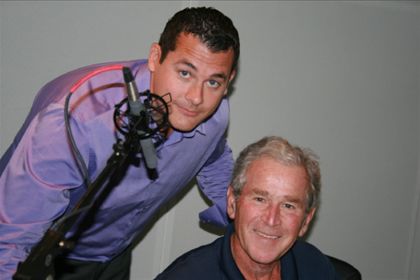 Dan Zitt and President George W. Bush