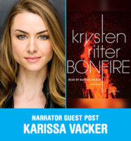 Karissa Vacker reads Bonfire by Krysten Ritter