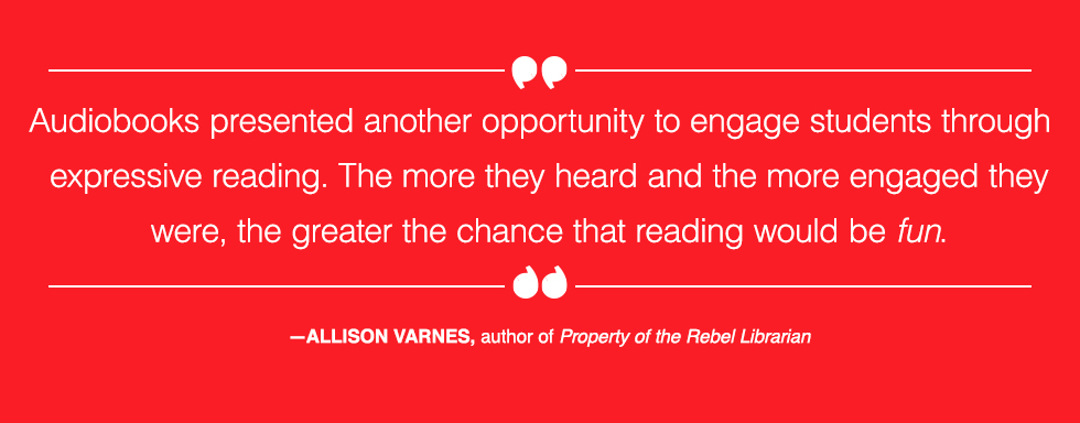 Property of the Rebel Librarian pull quote