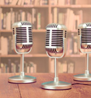 Microphones in library