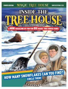 Magic Tree House fanzine winter 2020