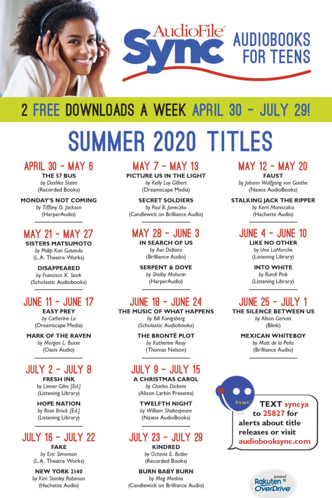 SYNC poster dates 2020