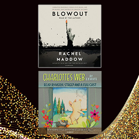 Blowout and Charlotte's Web covers