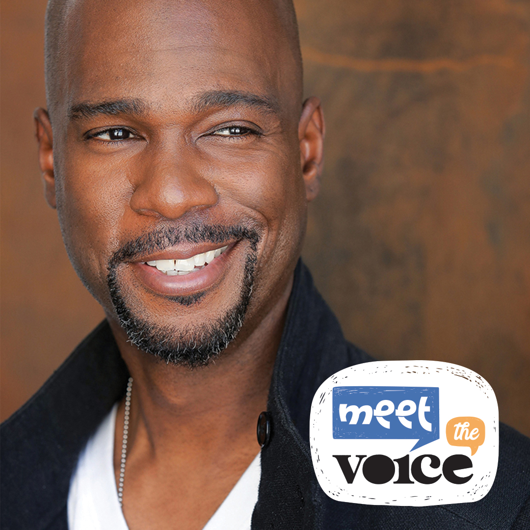 JD Jackson and Meet the Voice logo