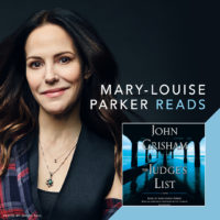 Mary-Louise Parker and THE JUDGE'S LIST cover